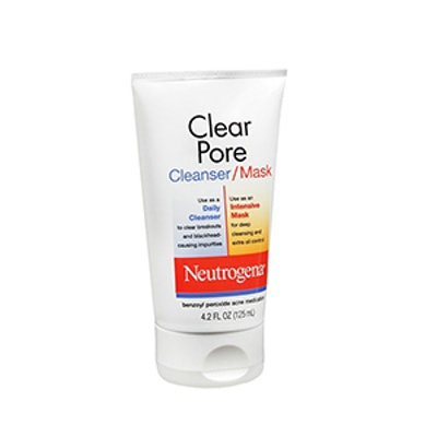 Pore Cleansing Face Wash And Mask