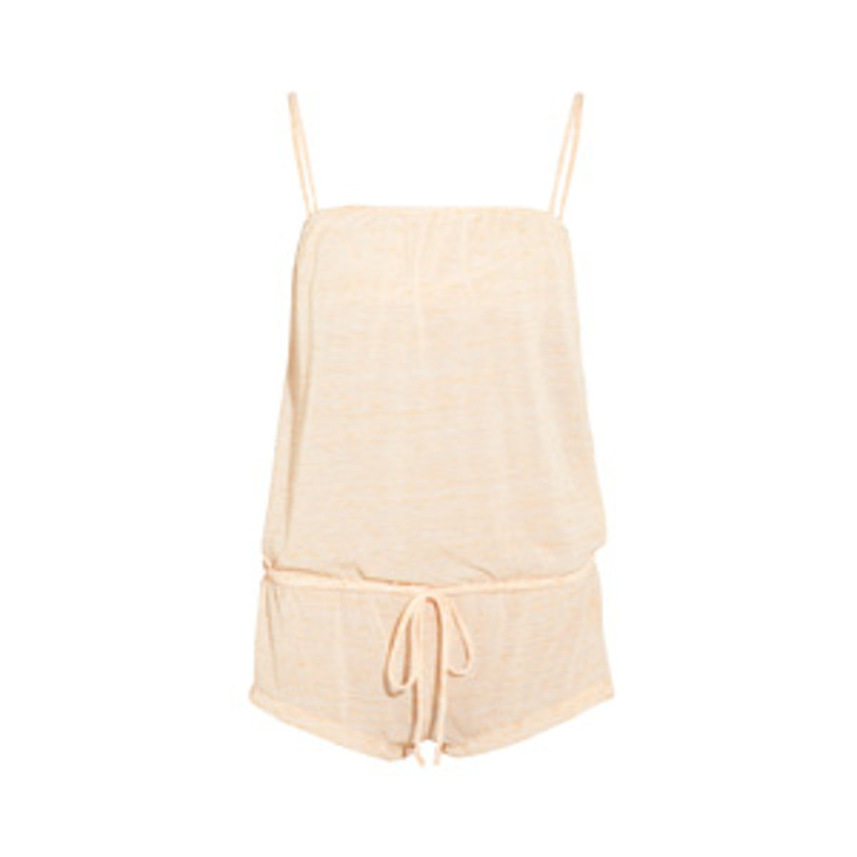 Bleached Out Jersey Playsuit
