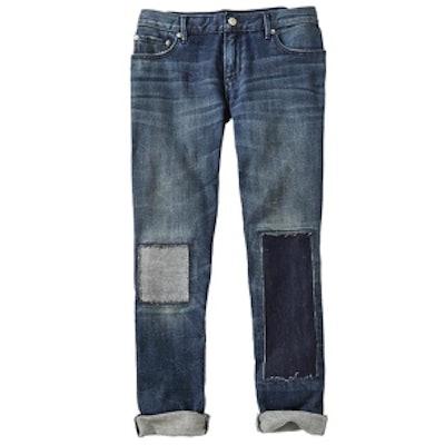 1969 Patch & Repair Sexy Boyfriend Jeans