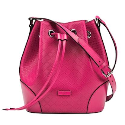 Bright Diamante Bucket Bag