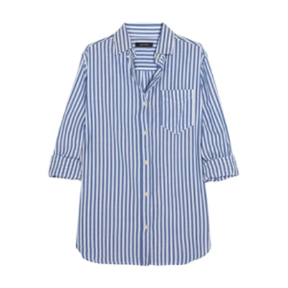 Eddie Striped Cotton Shirt