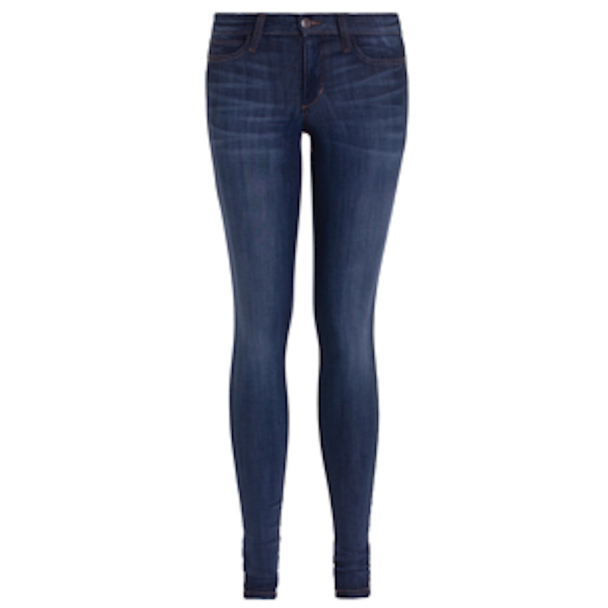 Beatrix High Rise Skinny Jeans in Flawless