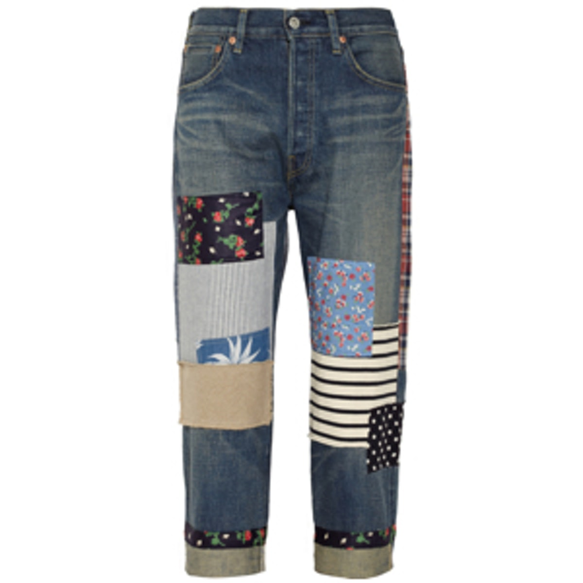 Cropped Boyfriend Jeans
