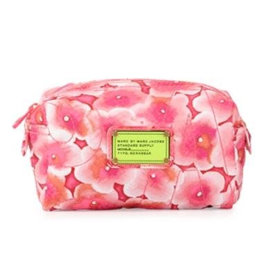 Floral Small Cosmetic Case