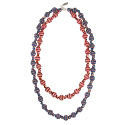 Double Strand Woven Necklace