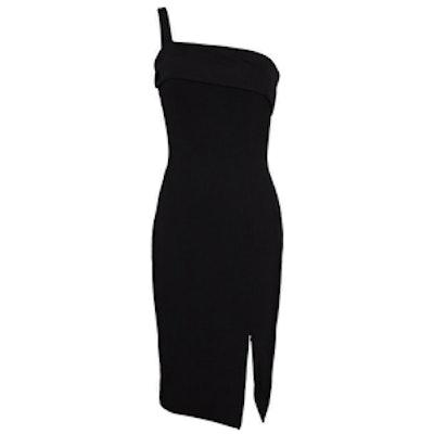 Backless Ponte Wrap Dress