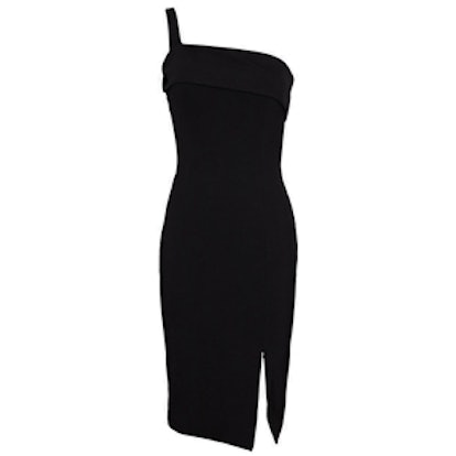 Backless Ponte Wrap Dress