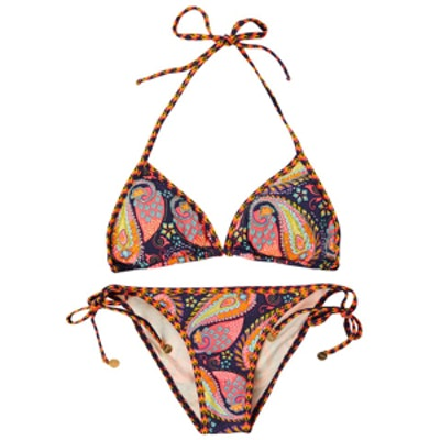 Paisley-Print Bikini
