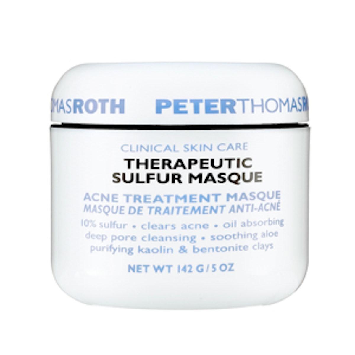 Therapeutic Sulfur Masque