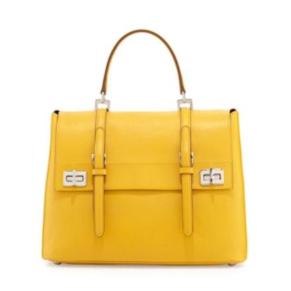 Medium Flap Satchel Bag