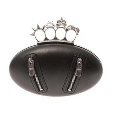 Knucklebox Motorcycle Leather Clutch