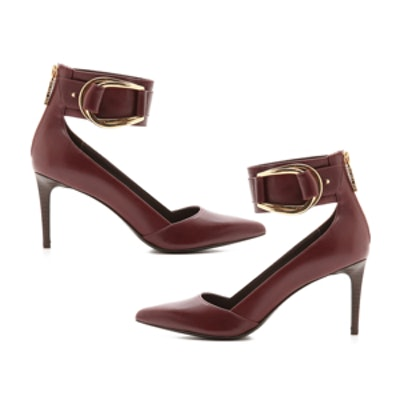 Hadley Ankle Strap Pumps
