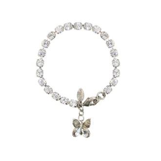 Swarovski Crystal Butterfly Bracelet