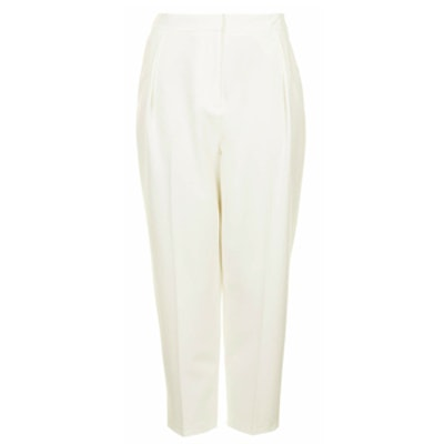 Cropped Peg Leg Trousers