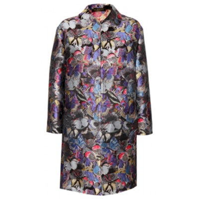 Silk Brocade Coat