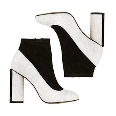 Color-Block Shoe-Boots