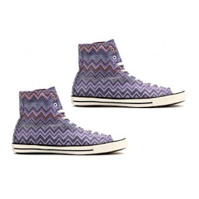 Missoni Fancy High-Top Sneakers