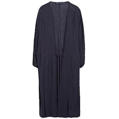 Flowy Gathered Coat