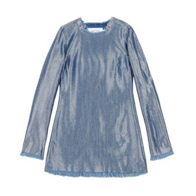 Blue Lame Dress