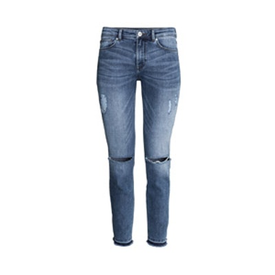 Ankle-Length Jeans