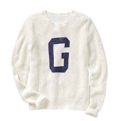 'G' Logo Sweater