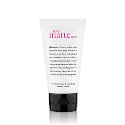 Pore-Minimizing & Mattifying Cleanser And Mask