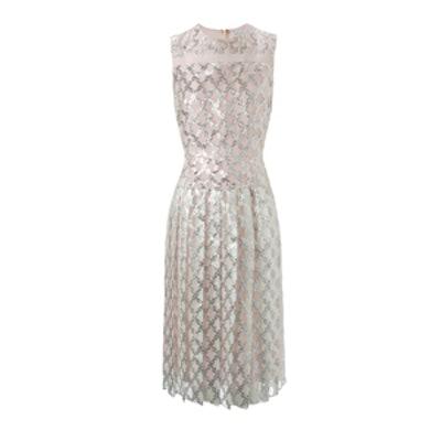 Metallic Lattice Dress