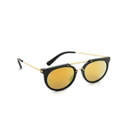 Stateline Leather Sunglasses
