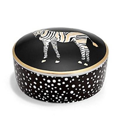 Round Zebra Box