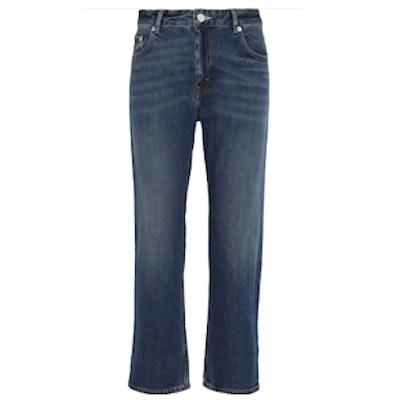 Pop Cropped Boyfriend Jeans