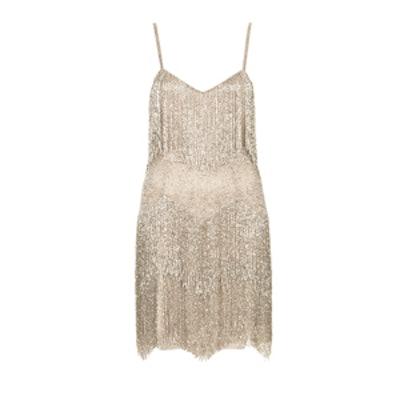 Tiered Fringe Dress
