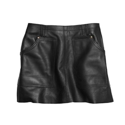 Leather Workwear Skirt