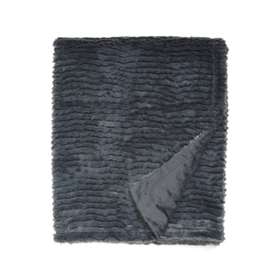 Ripple Plush Throw