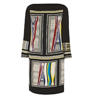 Printed Silk-Jersey Dress