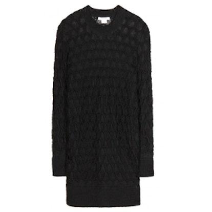 Mohair & Silk Blend Sweater Dress