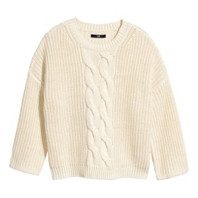Rib-Knit Sweater