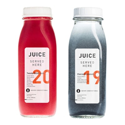 Organic Cold-Pressed Juice