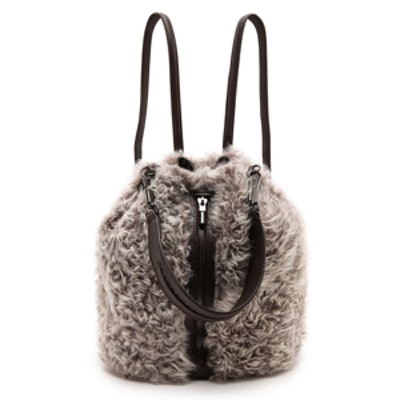 Cynnie Shearling Bag