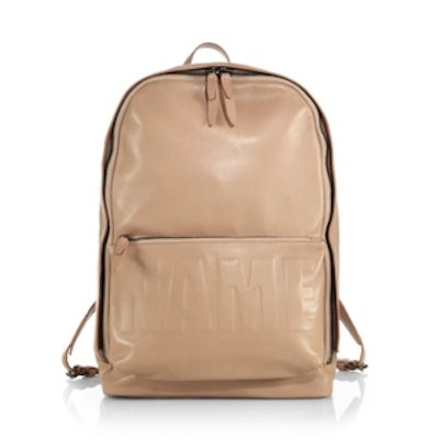 Name Drop Backpack