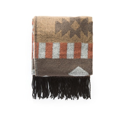 Printed Knit Scarf