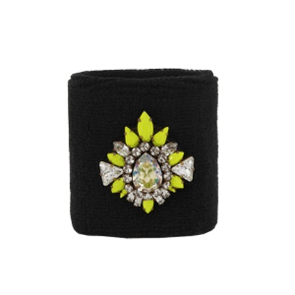 Embellished Terry Wristband