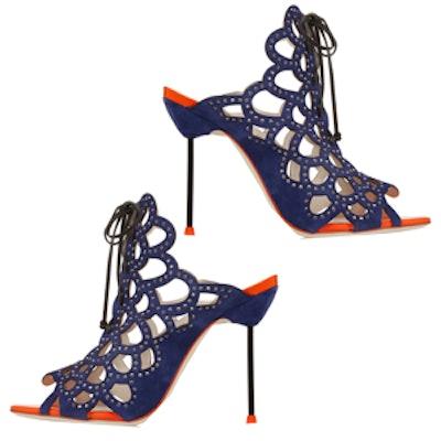 Greta Crystal-Embellished Sandals