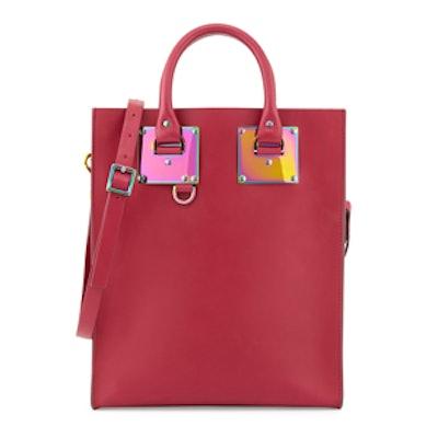 Mini Leather Tote Bag