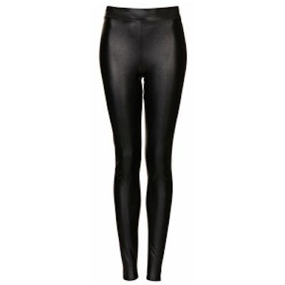 Leather Look Legging