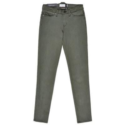 Five-Pocket Skinny Ankle Jeans