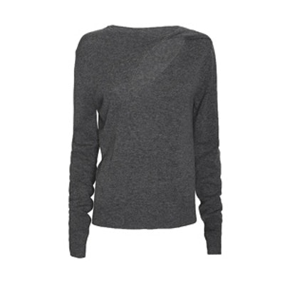 Robinson Cut Out Neckline Sweater