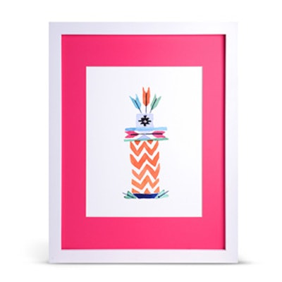 Arrow Totem Art Print