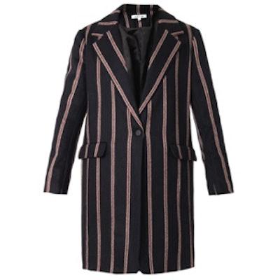 Iris Schoolboy Stripe Coat