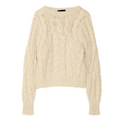 Kalimnos Aran Knit Sweater