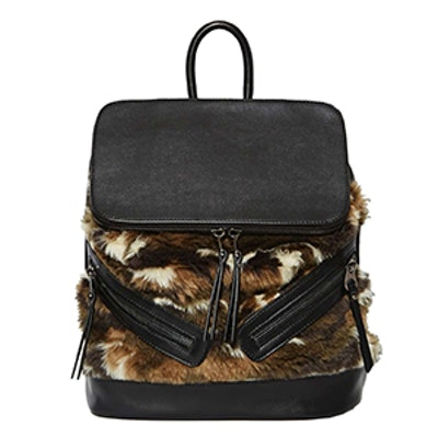 One Faux Fur The Road Bag